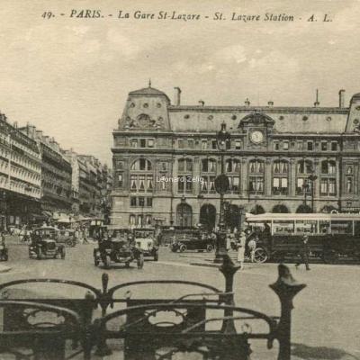 AL 49 - PARIS - La Gare St-Lazare