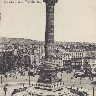 AL 69 - La Colonne de Juillet Place de la Bastille
