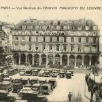 AL - Vue générale des GRANDS MAGASINS DU LOUVRE