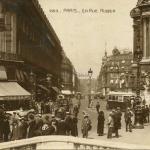 AN 283 - PARIS - La Rue Auber