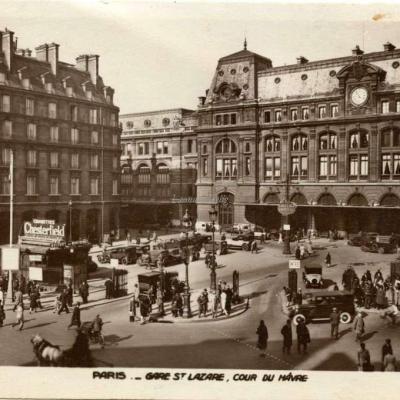 AN 490 - PARIS - Gare St-Lazare, Cour du Hâvre