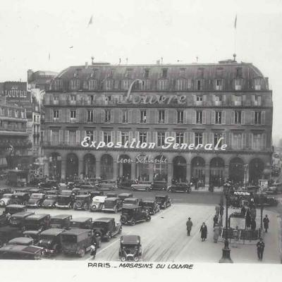 AN 584 - Magasins du Louvre