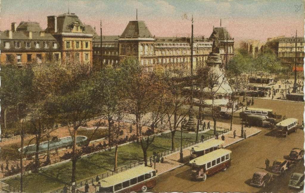 André LECONTE 257 - Paris et ses Merveilles - Place de la République