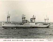 Cargo ANDRÉ MOYRAND   20-7-1949