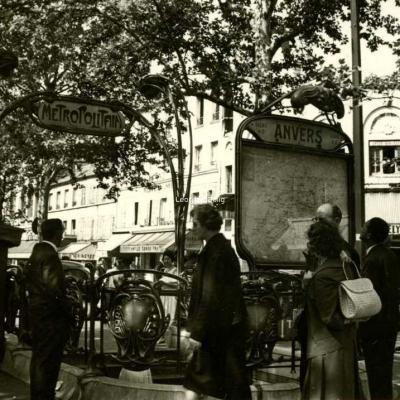 Photo - Station ANVERS en 1962