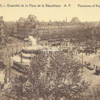 AP 125 - Ensemble de la Place de la République