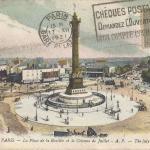 AP 127 - La Place de la Bastille et la Colonne de Juillet