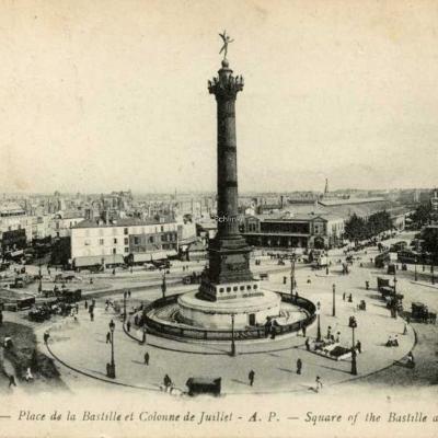 AP 127 - Place de la Bastille et Colonne de Juillet