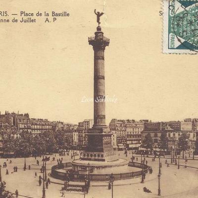 AP 128 - Place de la Bastille et Colonne de Juillet