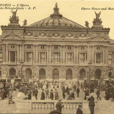 AP 168 - L'Opéra et la Station du Métropolitain