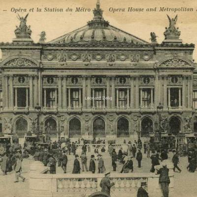 AP 170 - PARIS - Opéra et la Station du Métro