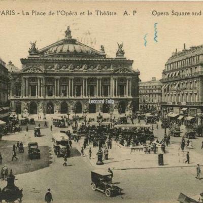 AP 174 - PARIS - La Place de l'Opéra et le Théâtre