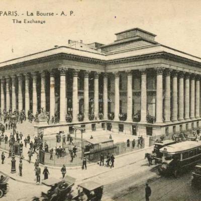 AP 182 - PARIS - La Bourse