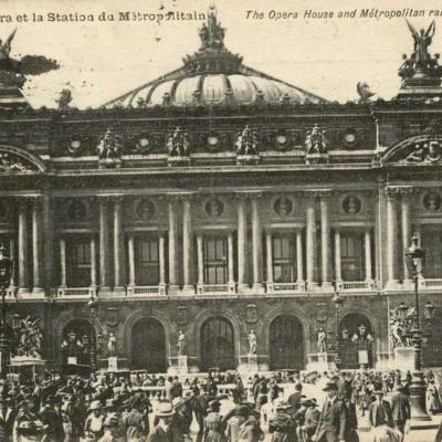 AP 187 - Opéra et la Station du Métropolitain