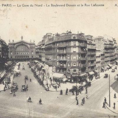 AP 202 - La Gare du Nord - Boulevard Denain & Rue Lafayette