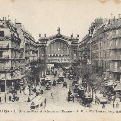 AP 202 - La Gare du Nord & le Boulevard Denain