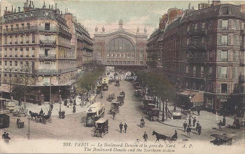 AP 202 - Le Boulevard Denain et la Gare du Nord