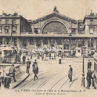 AP 204 - La Gare de l'Est et le Métro