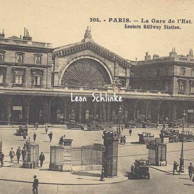 AP 204 La Gare de l'Est