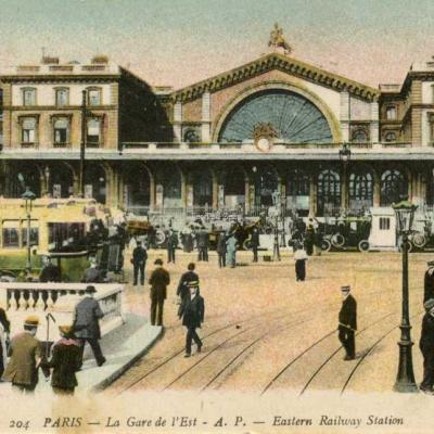 AP 204 - PARIS - La Gare de l'Est