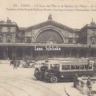 AP 205 - La Gare de l'Est - La Station du Métro
