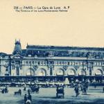 AP 208 - PARIS - La Gare de Lyon