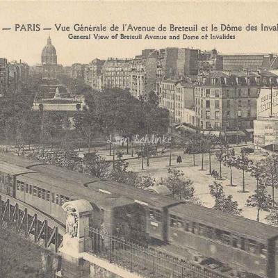 Sèvres-Lecourbe à Pasteur