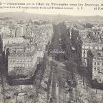 AP 23 - Panorama pris de l'Arc de Triomphe