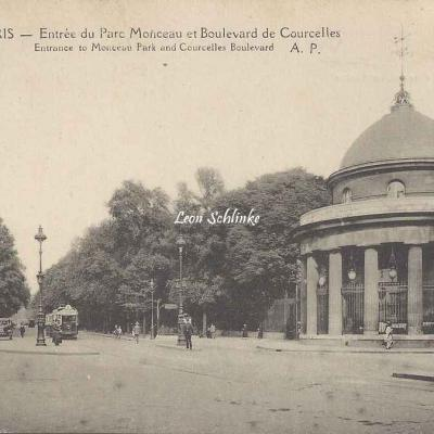 AP 261 - Entrée du Parc Monceau et Bd de Courcelles