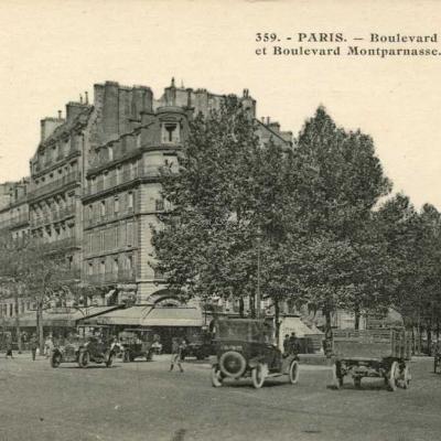 AP 359 - Boulevards Raspail et Montparnasse