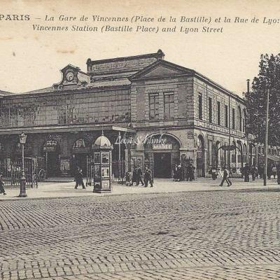 AP 363 - La Gare de Vincennes et le Rue de Lyon