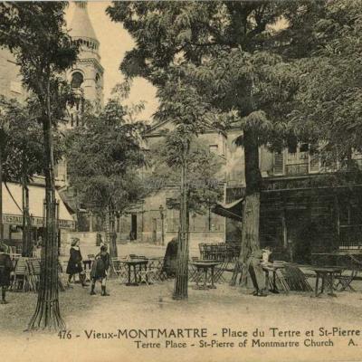 AP 476 - Vieux-Montmartre - Place du Tertre