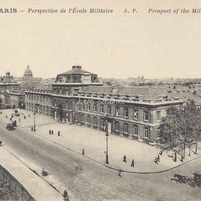 AP 51 - Perspective de l'Ecole Militaire