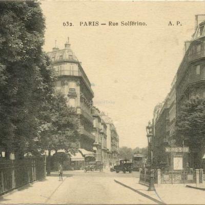 AP 632 - PARIS - Rue Solférino