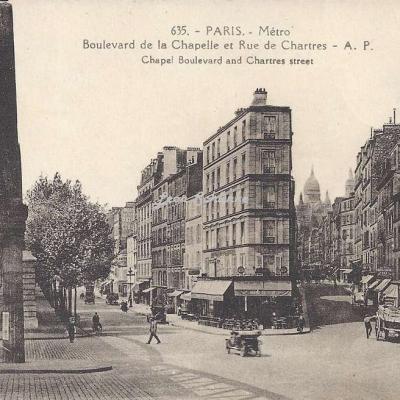 AP 635 - Boulevard de la Chapelle et Rue de Chartres