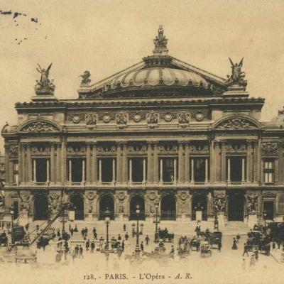 AR 128 - PARIS - L'Opéra