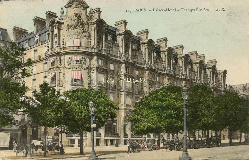 AR 147 - Palace-Hôtel - Champs Elysées