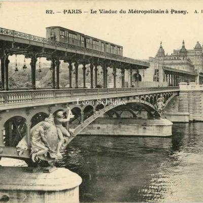AR 82 - Le Viaduc du Métropolitain à Passy