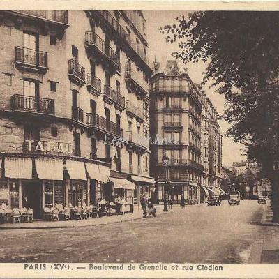Arlabosse Tabacs X.O 1191 - Bd de Grenelle et rue Clodion