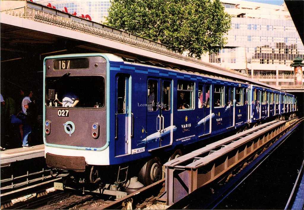 ART N° 37 - Ligne 1 Station Bastille MP59 en livrée publicitaire