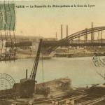 Au pêcheur du Pont d'Austerlitz - Passerelle et Gare de Lyon