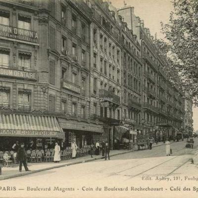Aubry edit - Boulevard Magenta - Coin Bd Rochechouart