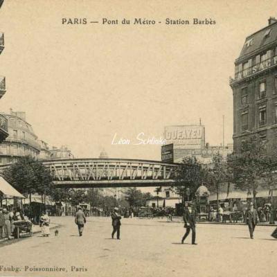 Aubry - Pont du Métro - Station Barbès