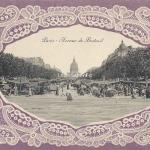 Carte Dentelle - 75 - Paris