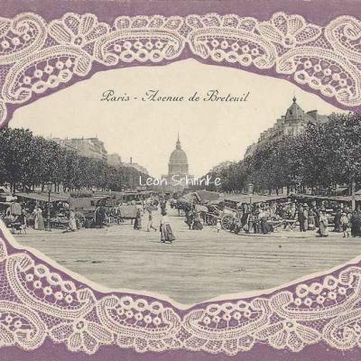 Carte Dentelle - 75 - Paris