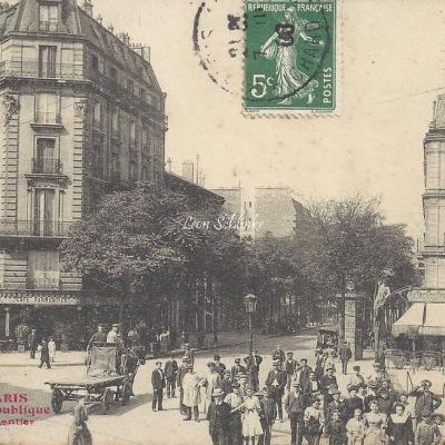 TOUT PARIS 1611 - Avenue de la République et Parmentier