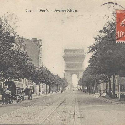Avenue Kleber - RN 392