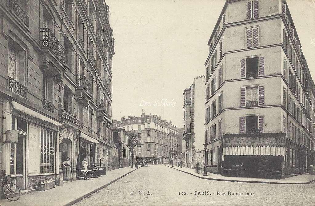 AWL 150 - Rue Dubrunfaut