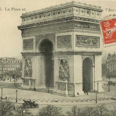B&B - PARIS·La place et l'Arc de Triomphe de l'Etoile