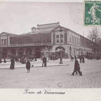 ''Balance fléau'' - Gare de Vincennes